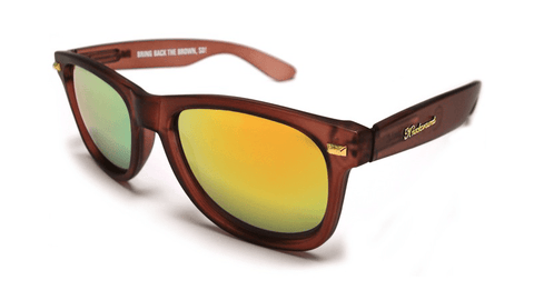 Knockaround Bring Back the Brown Sunglasses, Flyover