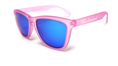 Knockaround Bubblegum Sunglasses, Flyover