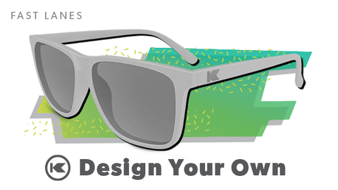 Custom Sunglasses, Fast Lanes