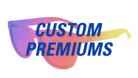 Build Your Own Sunglasses, Custom Sunglasses Premiums