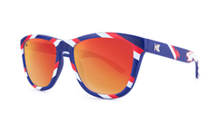 Knockaround Danger Zone Sunglasses, ThreeQuarter