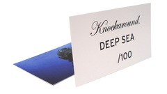 Knockaround Deep Sea Sunglasses, Insert Card