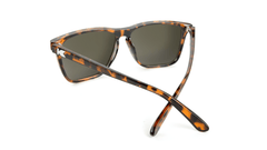 Knockaround Fast Lanes Tortoise Shell Frames with Amber Lenses, Back