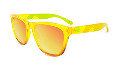 Knockaround Green Flash Sunglasses, Flyover