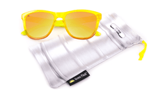 Knockaround Green Flash Sunglasses, Pouch
