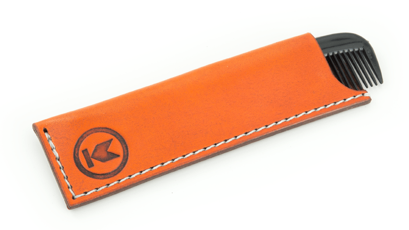Knockaround Leather Sheath & Pocket Comb