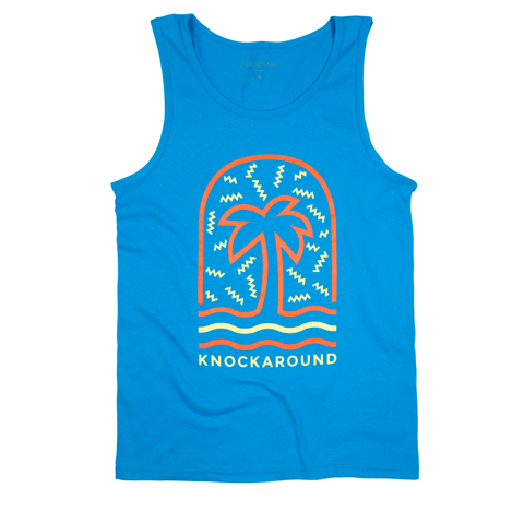 Zig Zag Palmz Men's Tank Top