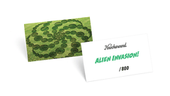 Knockaround, Alien Invasion! Fast Lane, Edition Card