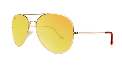 Knockaround Baywatch Sunglasses Mile Highs, ThreeQuarter