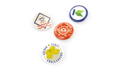 Knockaround Buttons