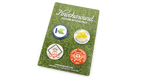 Knockaround Button Pack