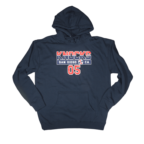 Knockaround Navy Dream Team Hooded Sweatshirt