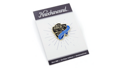 Knockaround Gold Bar Pin, Package