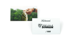 Hook Line & Sinker Sunglasses, Insert Card