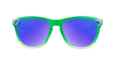Knockaround Peacock Sunglasses, Front