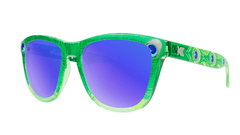 Knockaround Peacock Sunglasses, Threequarter