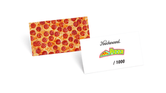 Knockaround Pizza Premiums, Insert Card