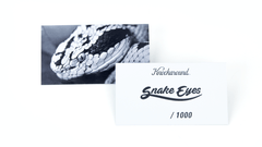 Knockaround Snake Eyes Sunglasses, Insert Card
