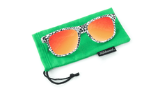 Knockaround Snake Eyes Sunglasses, pouch
