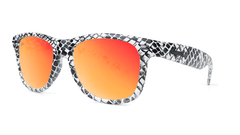 Knockaround Snake Eyes Sunglasses, Threequarter