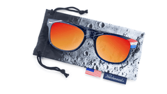The Eagle Has Landed Fort Knocks Sunglasses, Pouch