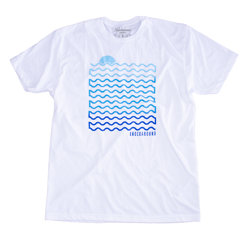 White Waves Tee, Front