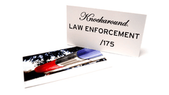 Knockaround Law Enforcement Sunglasses, Insert Card