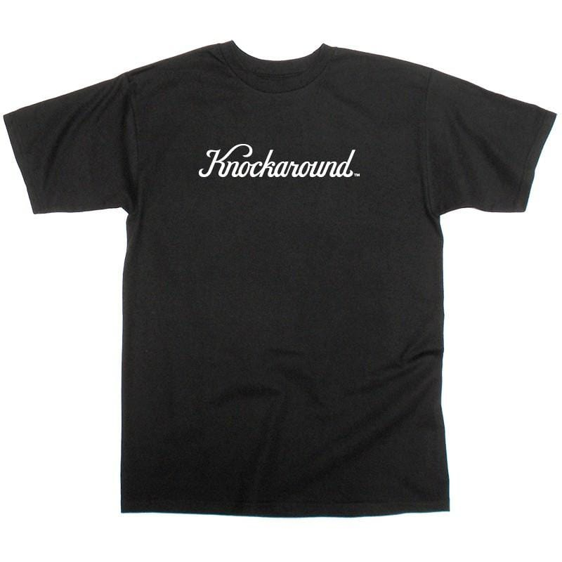 Knockaround Black Logo T-Shirt