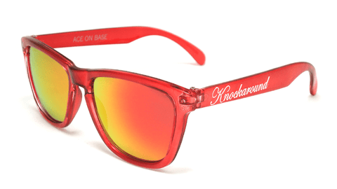 Knockaround Mistletoe Sunglasses, Flyover
