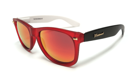 Knockaround Newsprint Sunglasses, Flyover