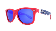 Knockaround Old Glory Sunglasses, ThreeQuarter