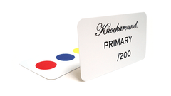 Knockaround Primary Sunglasses, Insert Card