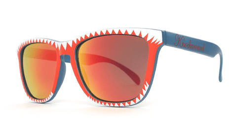 Knockaround Shark Attack Sunglasses, Pouch
