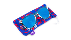 Knockaround Shark Week II Sunglasses, Pouch
