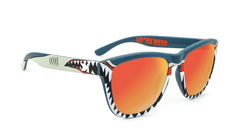 Knockaround Shark Week Sunglasses, Flyover II
