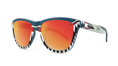 Knockaround Shark Week Sunglasses, ThreeQuarter