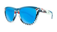 Knockaround Shark Week II Sunglasses, ThreeQuarter