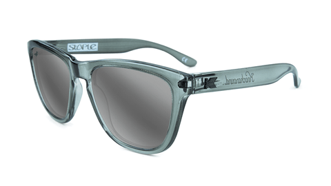 Knockaround Staple Grey Sunglasses, Flyover