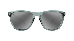 Knockaround Staple Grey Sunglasses, Front