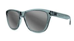 Knockaround Staple Grey Sunglasses, Threequarter