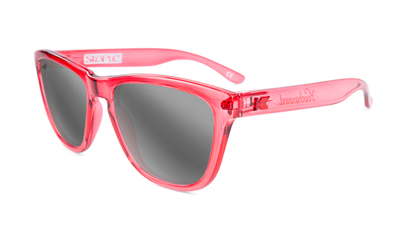 Knockaround Staple Pink Sunglasses, Flyover