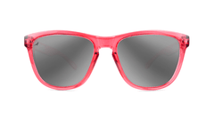 Knockaround Staple Pink Sunglasses, Front