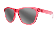 Knockaround Staple Pink Sunglasses, Threequarter
