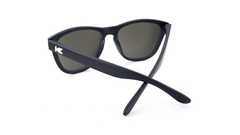 Premiums Sunglasses with Matte Black Frames and Black Smoke Lenses, Back
