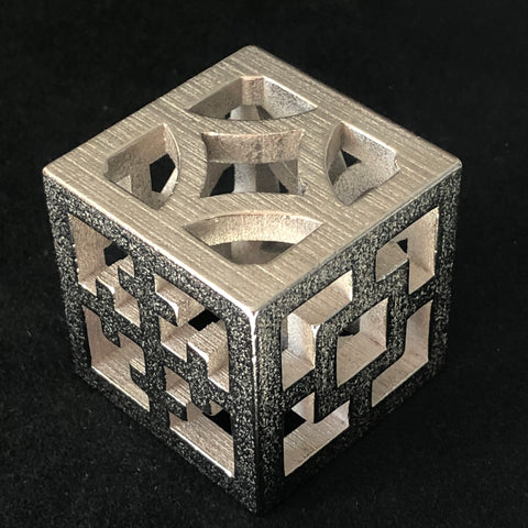 The Breeze Block Cube - Minty's Design