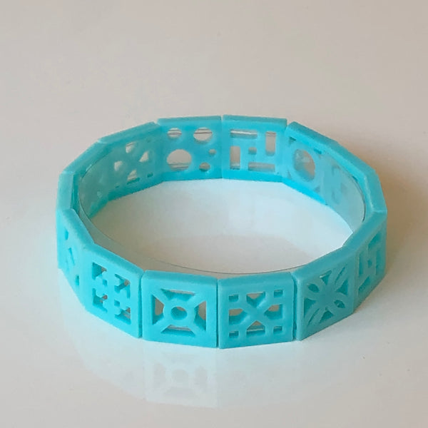 Mini Breeze Block Bracelet - Minty's Design