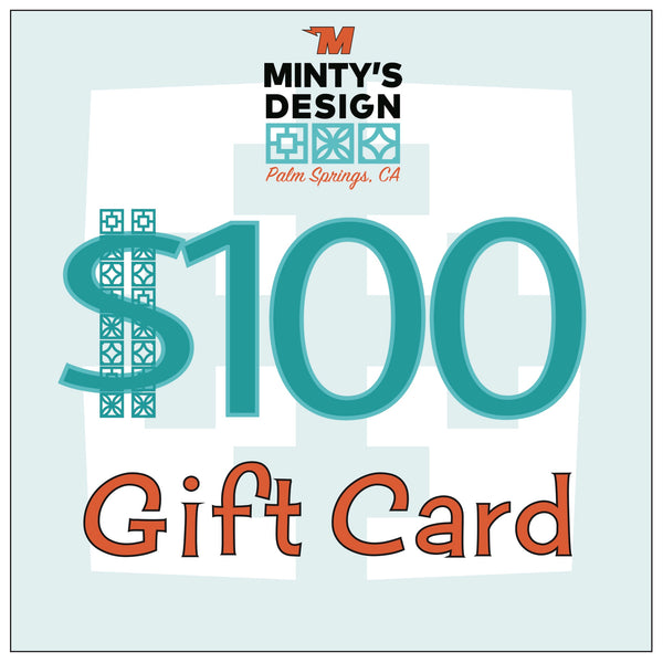 Minty's Design Gift Card