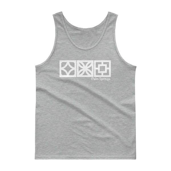 Palm Springs Breeze-Block Graphic Tank Top