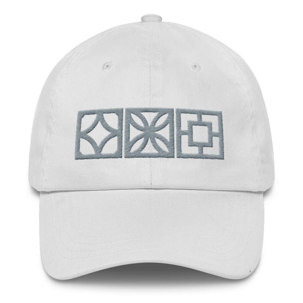 "Breeze-Block ""Triple-Play"" Baseball Cap - Minty's Design"