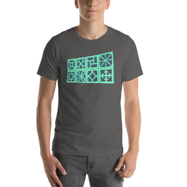 "Breeze-Block ""3D"" Tee Shirt - Minty's Design"